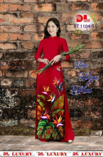 Vài áo dài lụa nhung nhật đính đá cao cấp BT 1104 của vải áo dài Kim Ngọc18