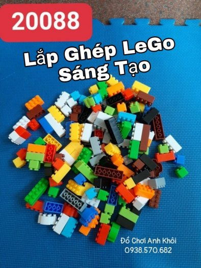 Lắp ghép Lego tư duy sáng tạo cho trẻ0