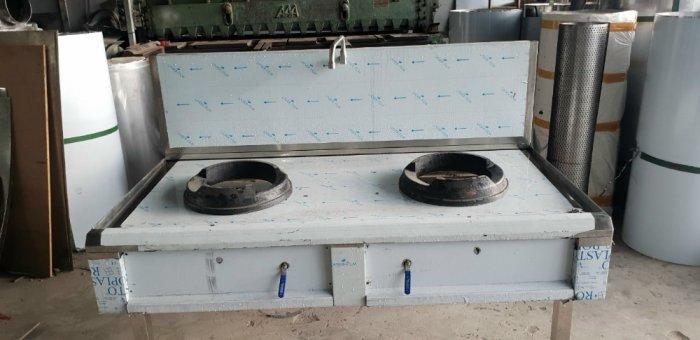 Bếp ga đôi inox Hải Minh HM 0072