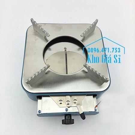 Bếp cồn inox hình vuông cao cấp - Bếp cồn thạch, bếp cồn nước hình vuông cao cấp cho nhà hàng quán ăn1