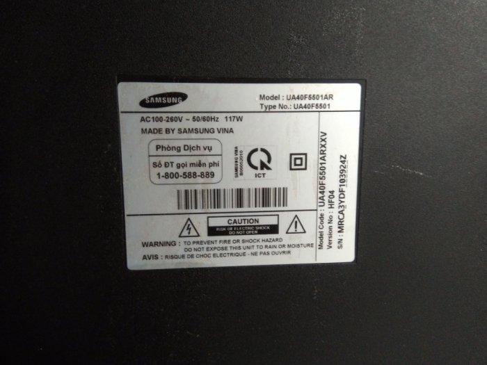 Samsung UA40F5501AR, Smart tivi Samsung.0