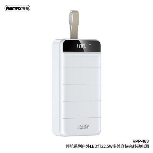 Pin dự phòng 30.000mAh Remax RPP-183 (sạc nhanh QC3.0 18W new0