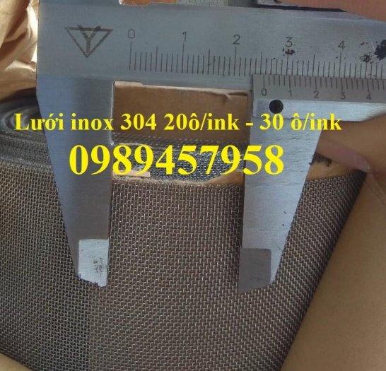 Lưới chống muỗi 20 ô/ink, 30 mesh, 40 ô/ink, Lưới chắn ruồi, Lưới chống côn trùng inox31610