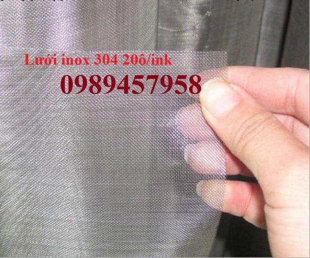 Lưới chống muỗi 20 ô/ink, 30 mesh, 40 ô/ink, Lưới chắn ruồi, Lưới chống côn trùng inox3169