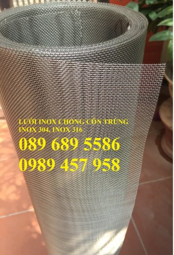 Chuyên Lưới inox 35 ô/ink, Lưới chống côn trùng  - Lưới lọc 40mesh, Lưới inox 50mesh và 60mesh8