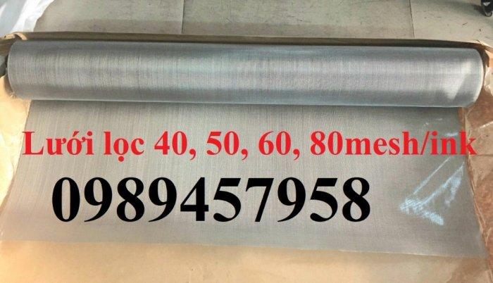 Chuyên Lưới inox 35 ô/ink, Lưới chống côn trùng  - Lưới lọc 40mesh, Lưới inox 50mesh và 60mesh5