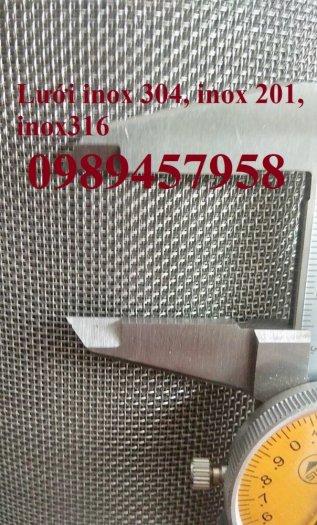 Chuyên Lưới inox 35 ô/ink, Lưới chống côn trùng  - Lưới lọc 40mesh, Lưới inox 50mesh và 60mesh0