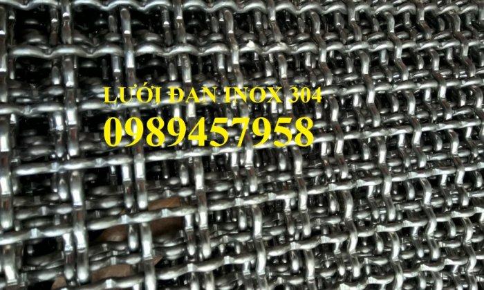 Lưới inox304 dây 0,5ly, 0,7ly, 1ly ô 3x3, 5x5, 10x10, 15x15, 20x208