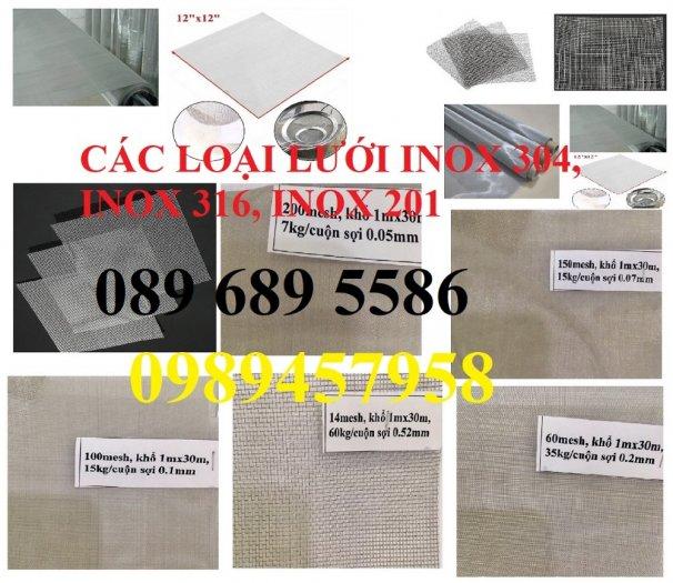 Lưới thép không rỉ SUS304, SUS316, SUS201, Lưới đan, lưới hàn inox9