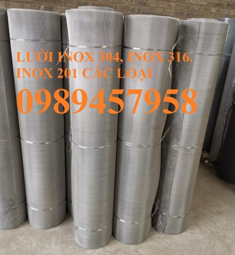 Lưới thép không rỉ SUS304, SUS316, SUS201, Lưới đan, lưới hàn inox3