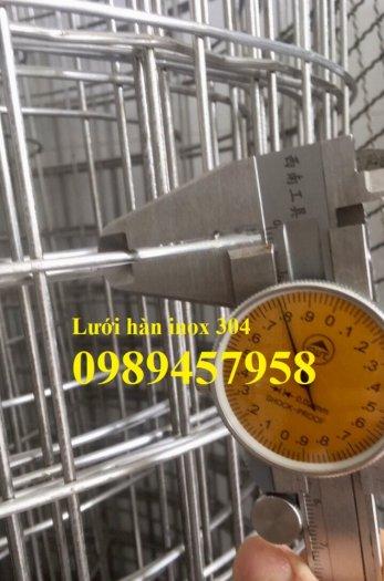 Lưới thép không rỉ SUS304, SUS316, SUS201, Lưới đan, lưới hàn inox1