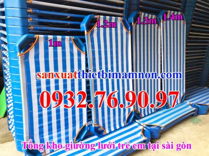 Giường ngủ vải lưới trẻ em11