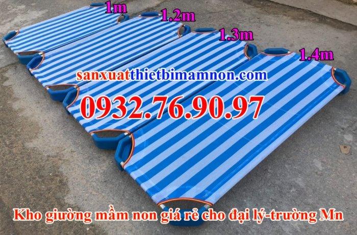 Giường ngủ vải lưới trẻ em10