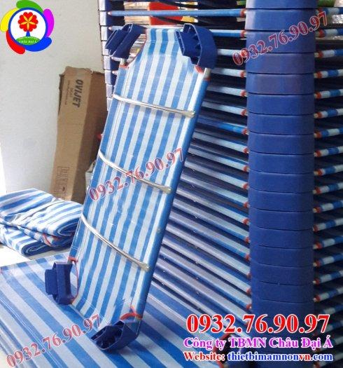 Giường ngủ vải lưới trẻ em8