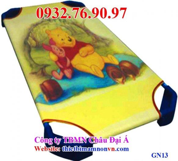 Giường ngủ vải lưới trẻ em4