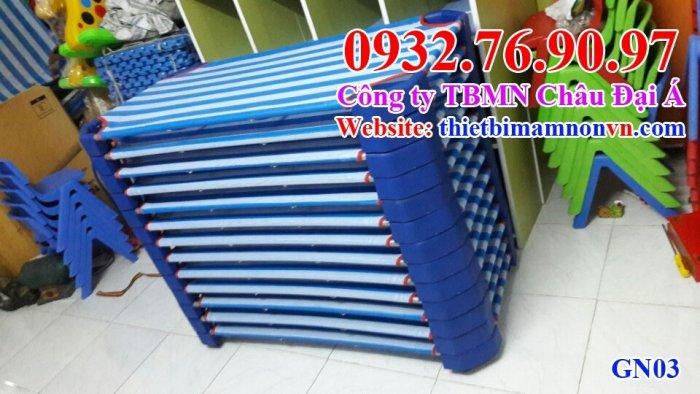 Giường ngủ vải lưới trẻ em0