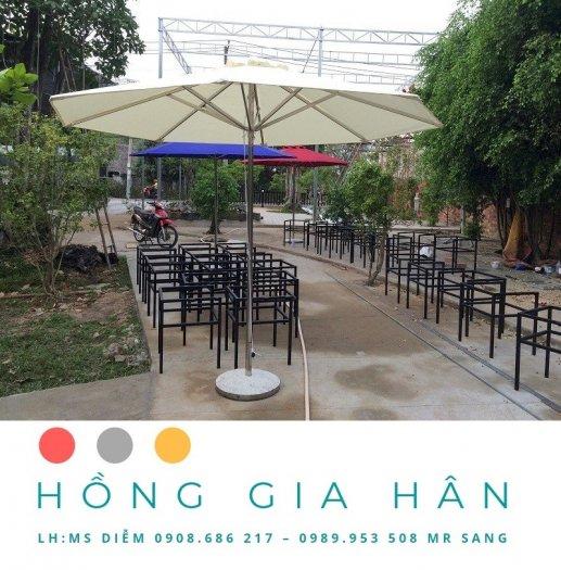 Dù Che Mua Nắng Trang Trí Sân Vườn, Cafe Hồng Gia Hân1
