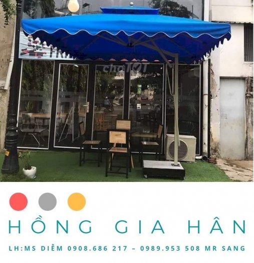 Xả Kho Dù Che Mưa Nắng_Trang Trí Sân Vườn Hồng Gia Hân0
