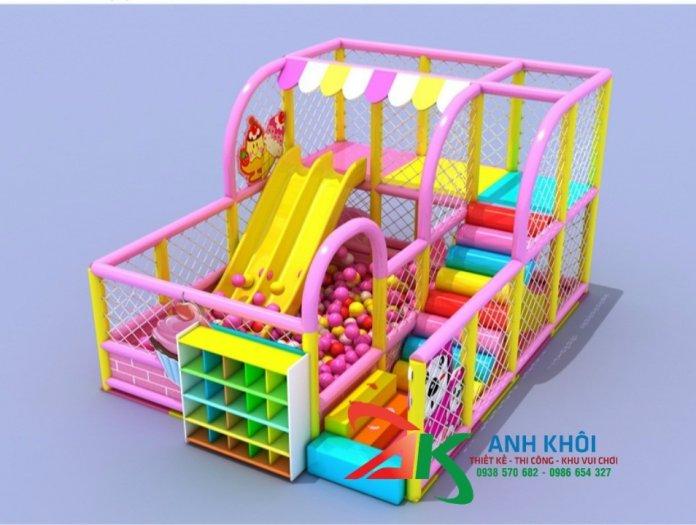 Nhận thi công khu vui chơi trẻ em1