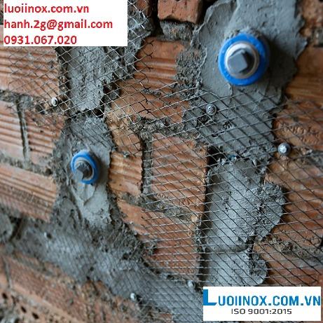 Lưới thép tô tường chống nứt 6x12mm; 10x10mm; 10x20mm2