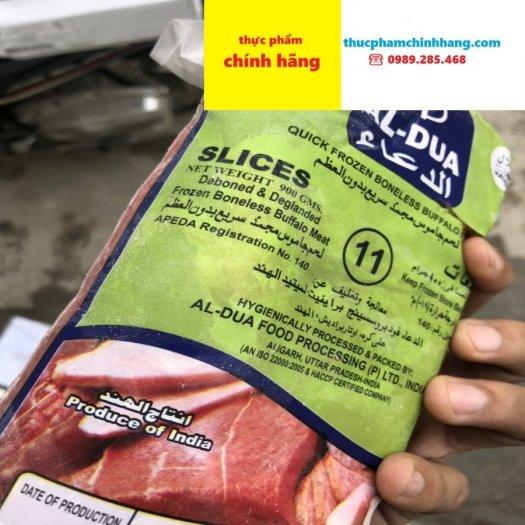 Bán thịt nạm trâu Ấn Độ nguyên thùng 18kg0