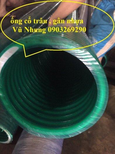 Ống gân nhựa xanh - ống gân nhựa lõi thép xanh pvc dẫn hút - xả cát D350 , D300,D250,D220, D200.D150,D168,D100,D902