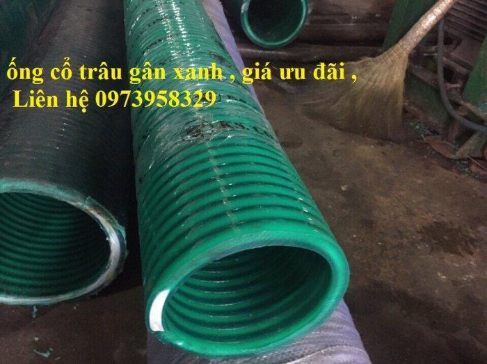 Ống gân nhựa xanh - ống gân nhựa lõi thép xanh pvc dẫn hút - xả cát D350 , D300,D250,D220, D200.D150,D168,D100,D901