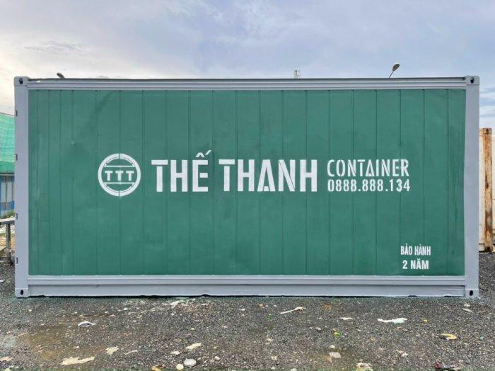 Container Thế Thanh làm kho lạnh1