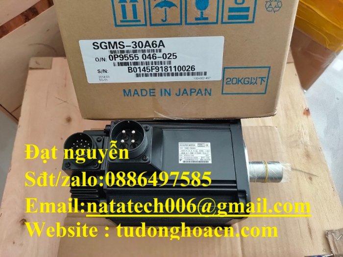 SGMS-30A6A động cơ Yaskawa CNC chính hãng mới 100%2
