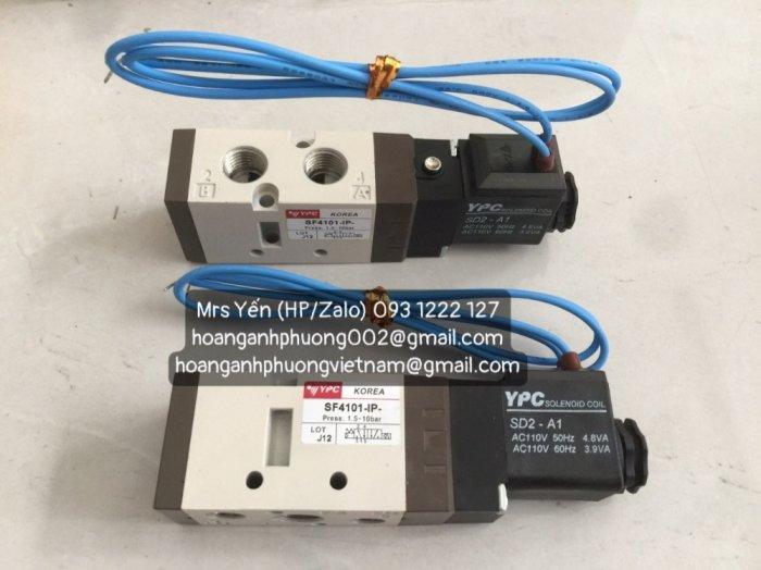 Van một đầu điện SF4101-IP-  YPC Korea  Cty Hoàng Anh Phương2