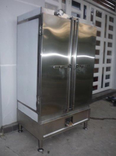 Tủ nấu cơm công nghiệp inox 304 HM 05 Hải Minh2
