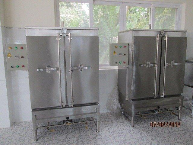 Tủ nấu cơm công nghiệp inox 304 HM 05 Hải Minh1