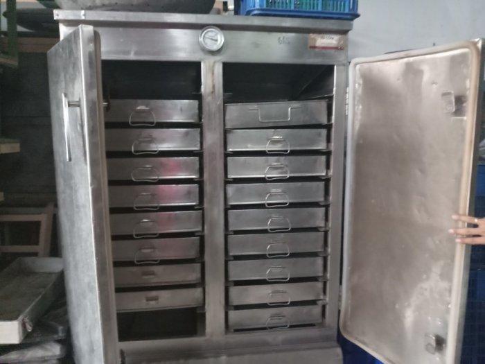 Tủ nấu cơm công nghiệp inox 304 HM 05 Hải Minh0