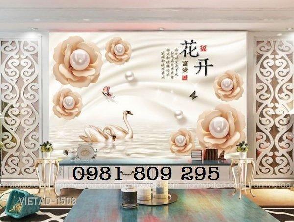 Gạch tranh 3d hoa trang sức2