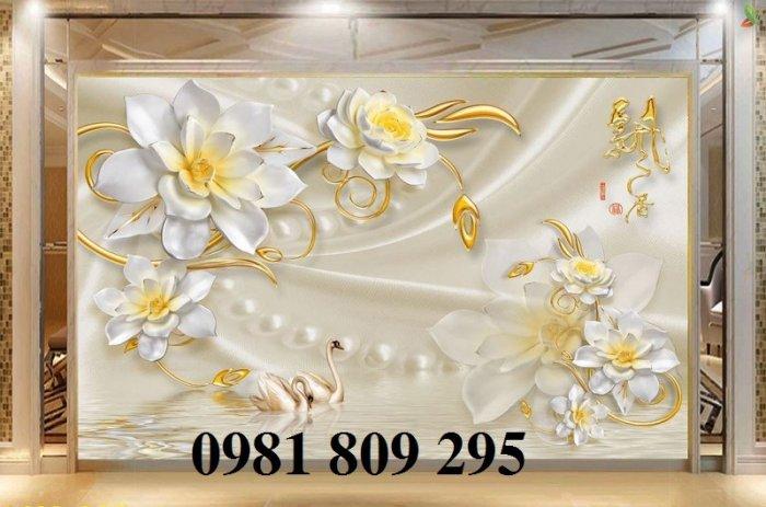 Gạch tranh 3d hoa trang sức0