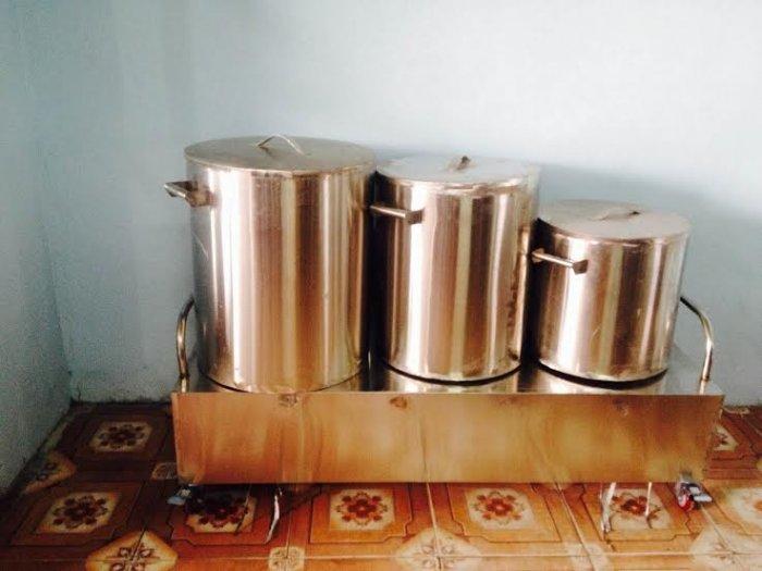 Nồi điện nấu nước lèo bán bún inox 304 Hải MInh HM072