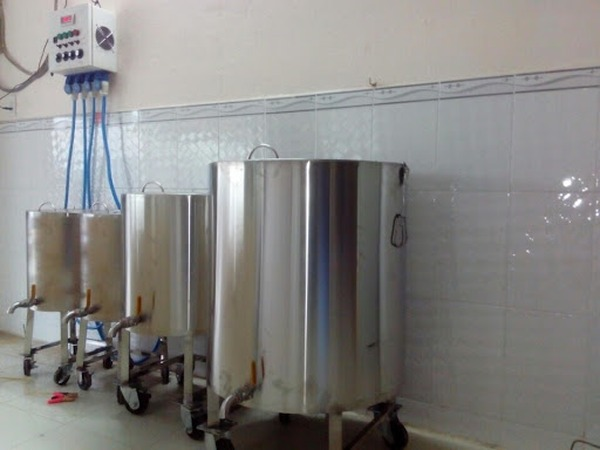 Nồi điện nấu nước lèo bán bún inox 304 Hải MInh HM071