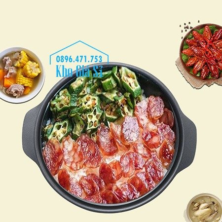 Nồi nhôm nấu lẩu, nồi nhôm nấu cá om dưa, nồi nhôm chống dính nấu ăn cho nhà hàng21