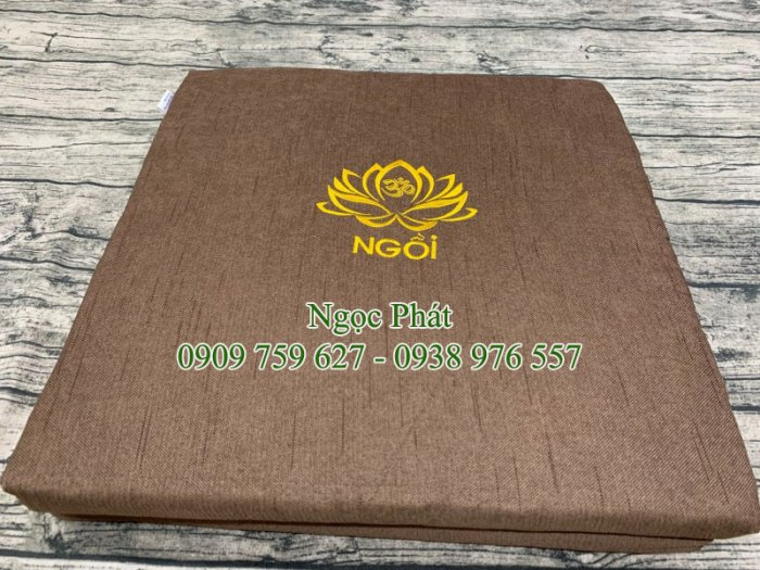 Nệm Ngồi Thiền Gấp Gọn Size 100x50cm Quỳ Lạy + Ngồi Lễ Phật.5