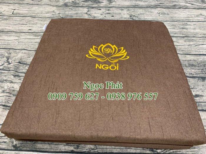Nệm Ngồi Thiền Tọa Cụ 100x50cm Gấp Gọn Phong Cách Phật Giáo7