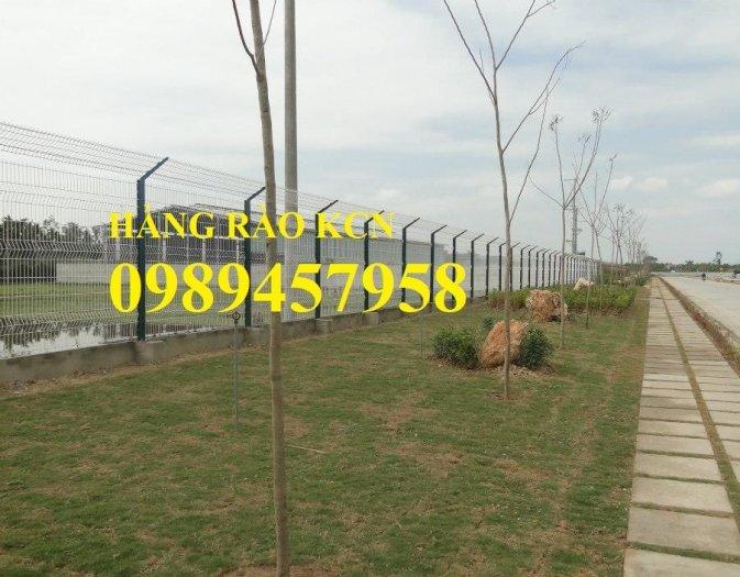 Lưới hàng rào sơn tĩnh điện phi 5 a 50x150, Hàng rào mạ kẽm nhúng nóng D5 50x2000