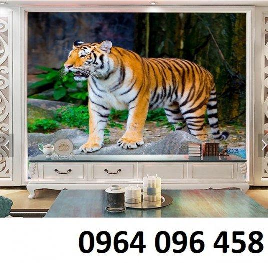 Tranh hổ - gạch tranh hổ 3d - BNM871