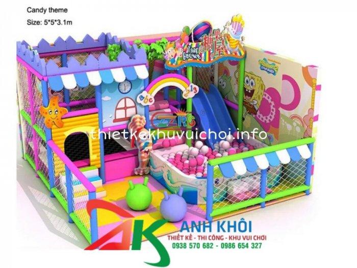 Lắp đặt khu vui chơi trong nhà3