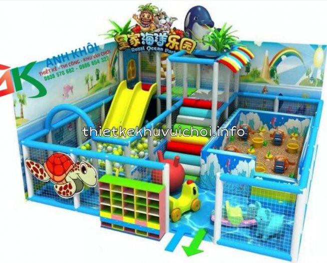 Lắp đặt khu vui chơi trong nhà2