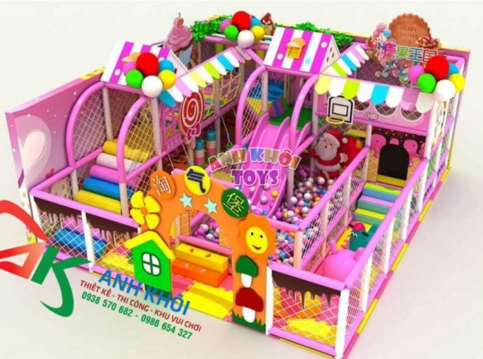 Lắp đặt khu vui chơi trong nhà1