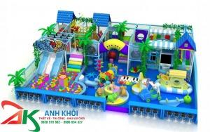 Thi công mô hình khu vui chơi trẻ em giá rẻ4