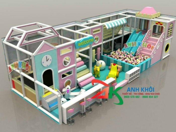Thi công mô hình khu vui chơi trẻ em giá rẻ3