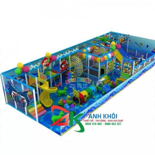 Thi công mô hình khu vui chơi trẻ em giá rẻ2