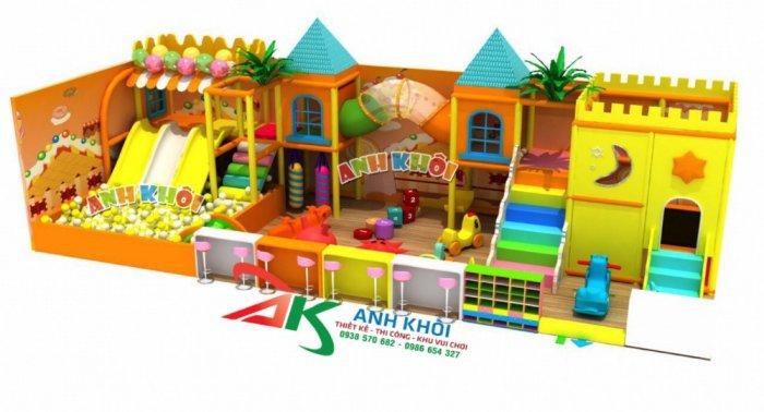 Thi công mô hình khu vui chơi trẻ em giá rẻ0