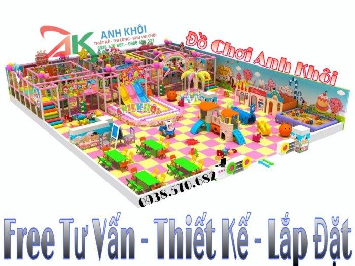 Combo trọn gói lắp đặt khu vui chơi trẻ em4